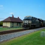 NS 7608 - NS119 - GEVO - Landis NC - trains