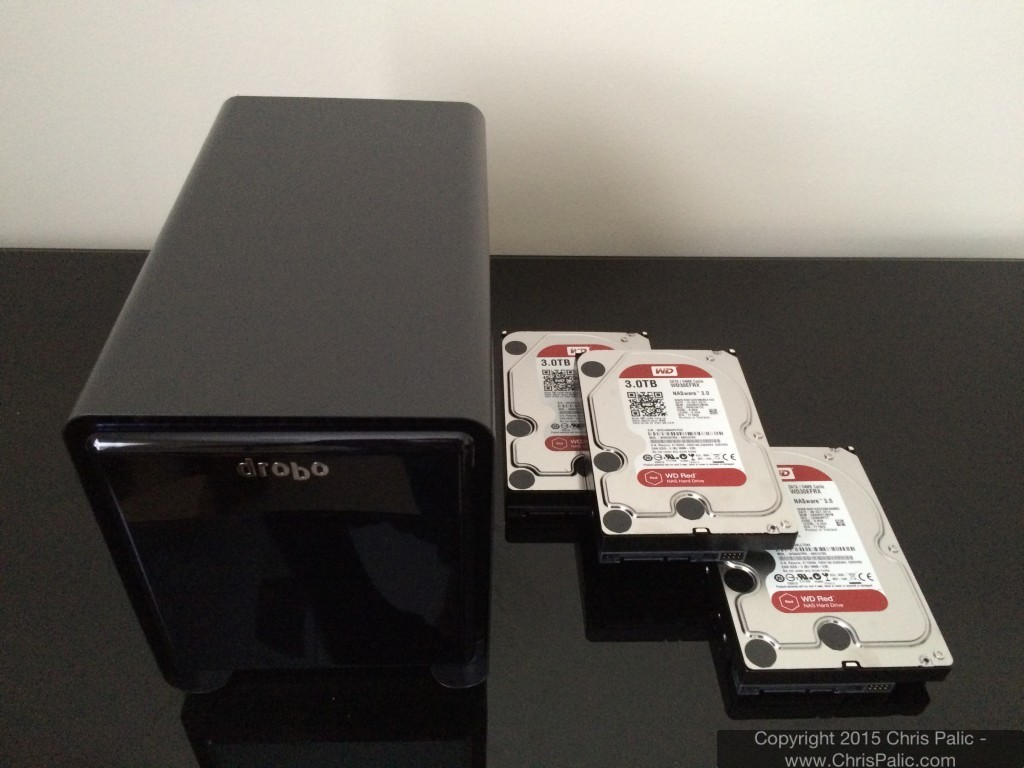 Drobo 5N with WD Red 3TB Drives