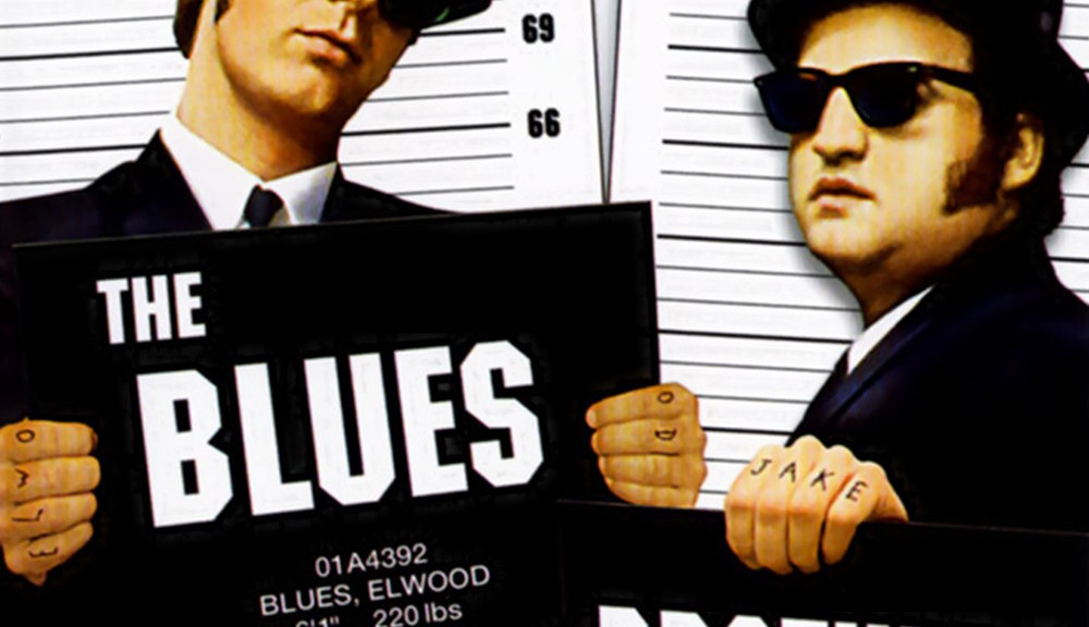 """Poster for the movie """"The Blues Brothers"""""""