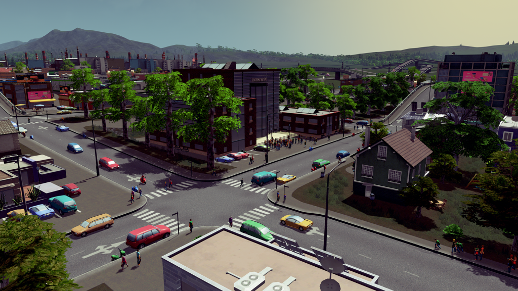 Sunny Metropolis city in Cities:Skylines