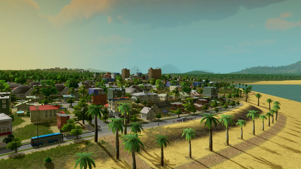 Beachfront Property - Cities:Skylines
