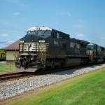 NS 8412 - GE 9-40CW - NS 40W - Landis NC - trains