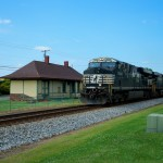 NS 7608 - NS119 - GEVO - Landis NC - trains