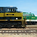 NS8100 - GE-ES44AC - Nickel Plate Road